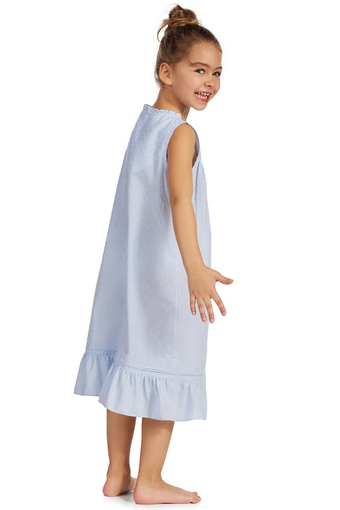 Swiss Dot Toddler Gown -       Mommy & Me