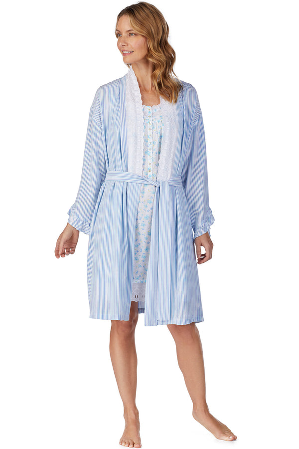 Seaglass Stripe Robe