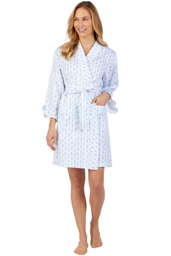 Rose Stripe Robe