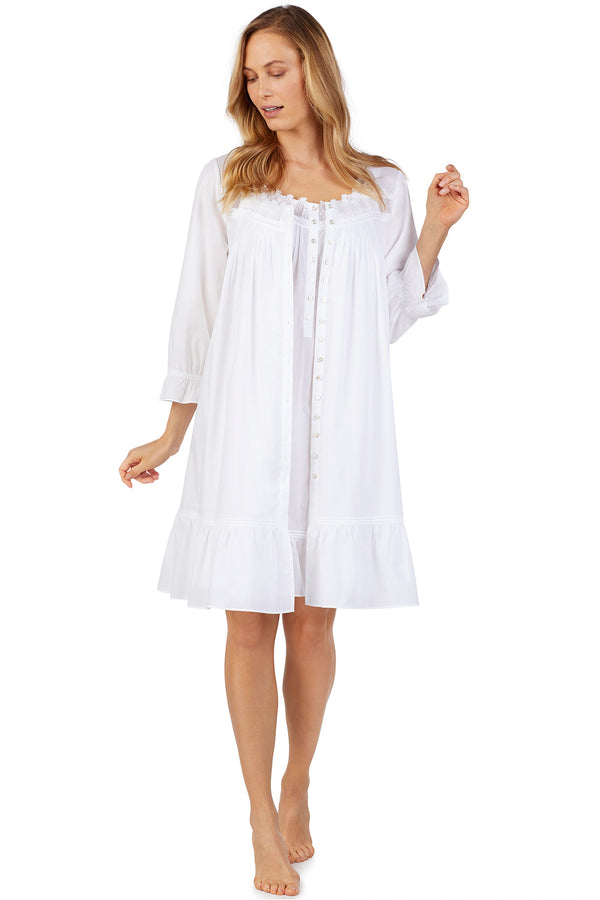 Stinson Button-Front Robe