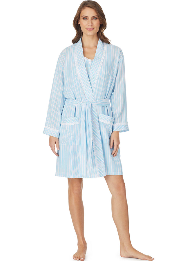 Sorrento Stripe Robe