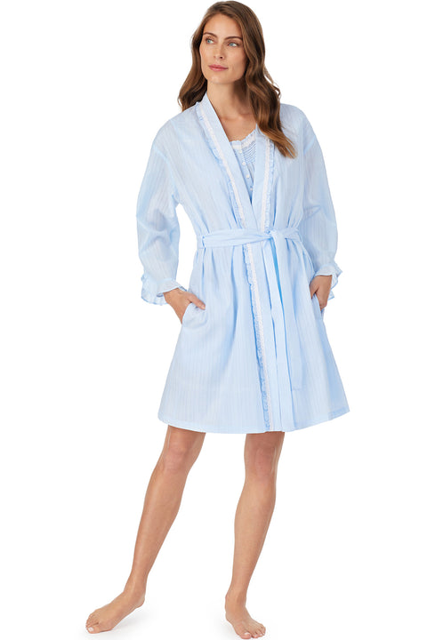 Dobby Stripe Dream Robe