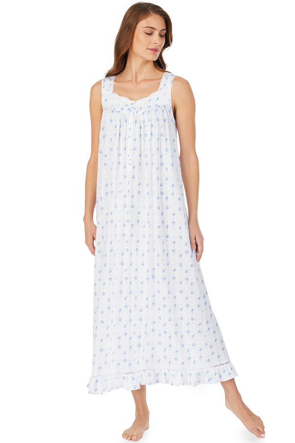 Forget-Me-Not Pointelle Gown