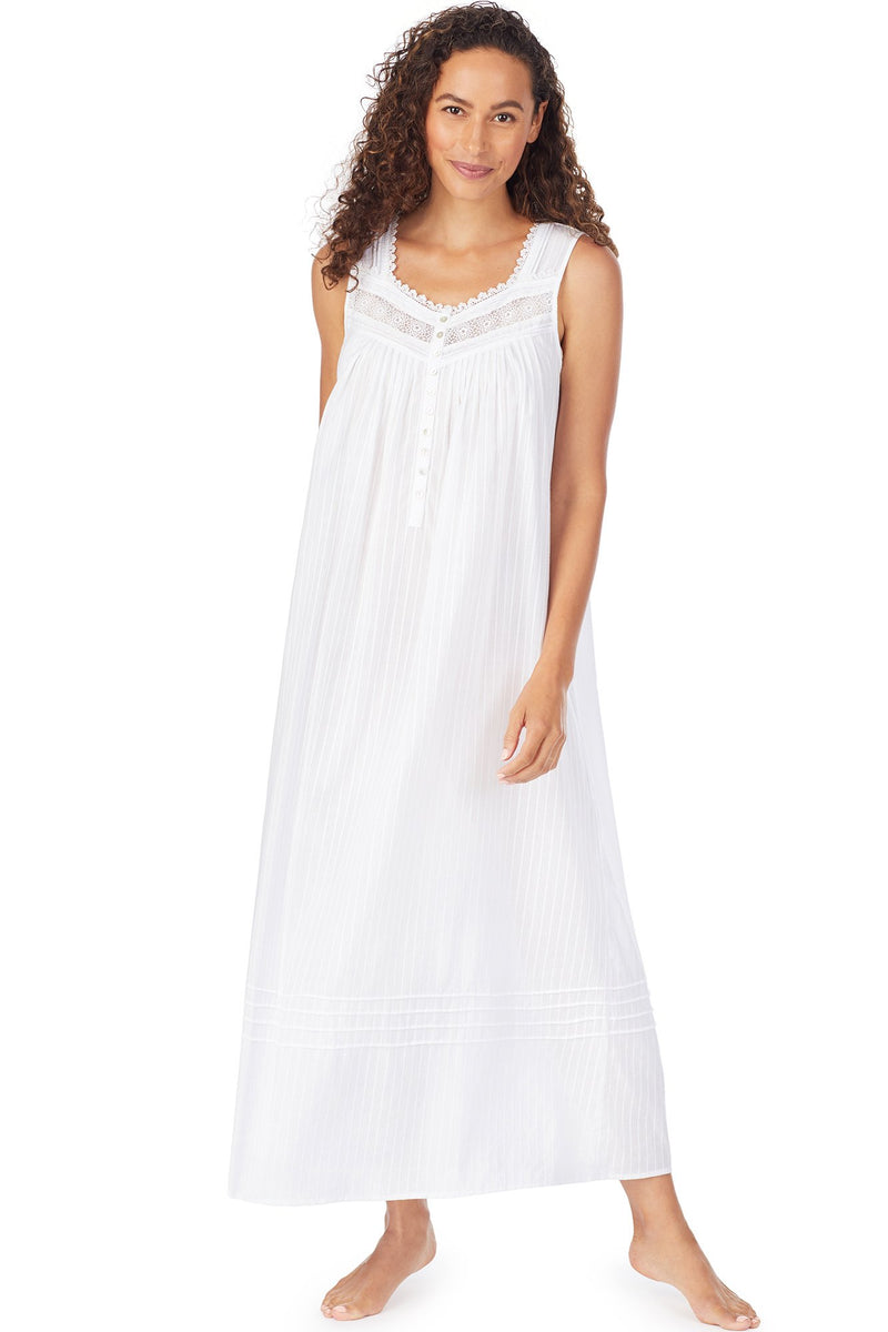 Delicate Dobby Stripe Gown, Petite