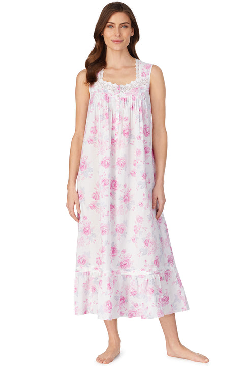 Aquarelle Rose Ballet Nightgown