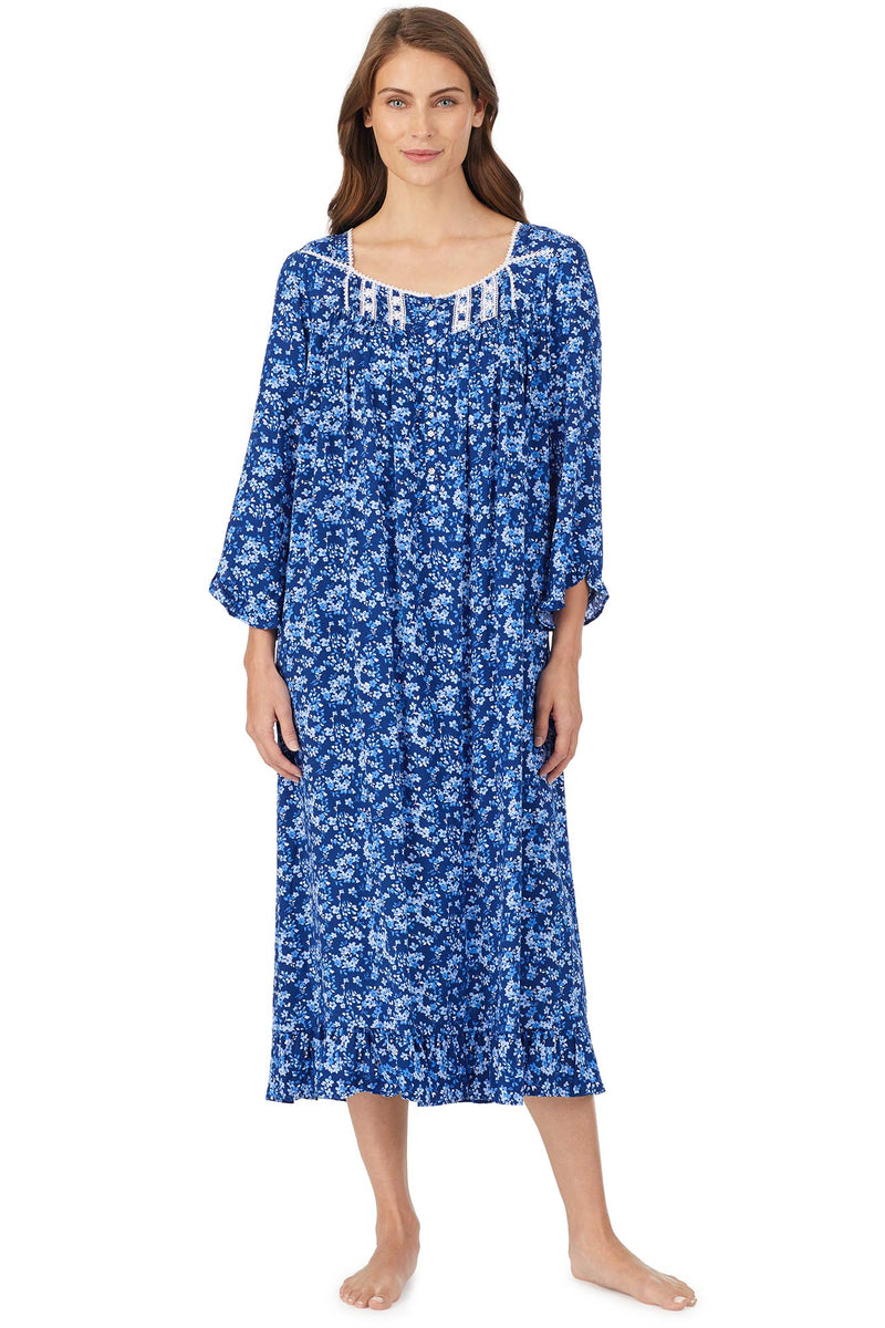 Seacliff Bloom Long Sleeve Gown