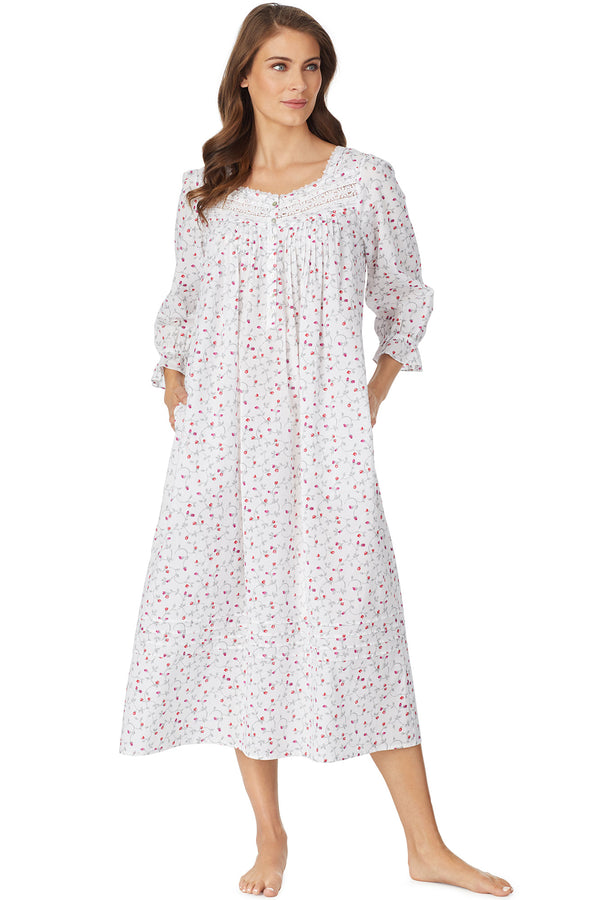 Holiday Bloom Gown, Long Sleeve