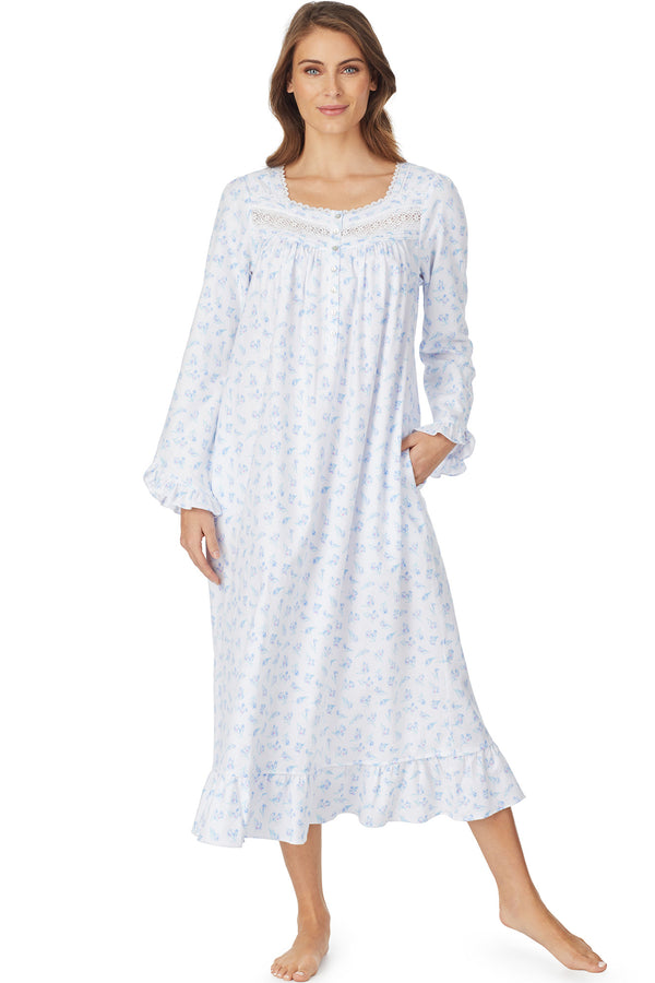 Crocus Dreams Flannel Gown
