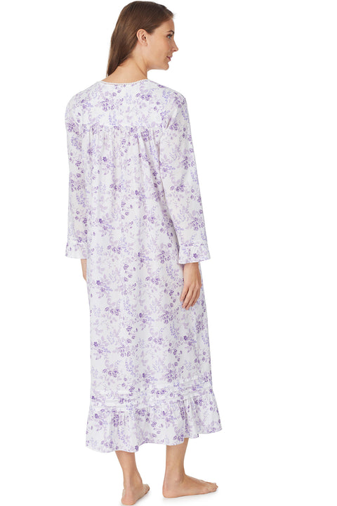 Evening Blooms Gown, Long Sleeve