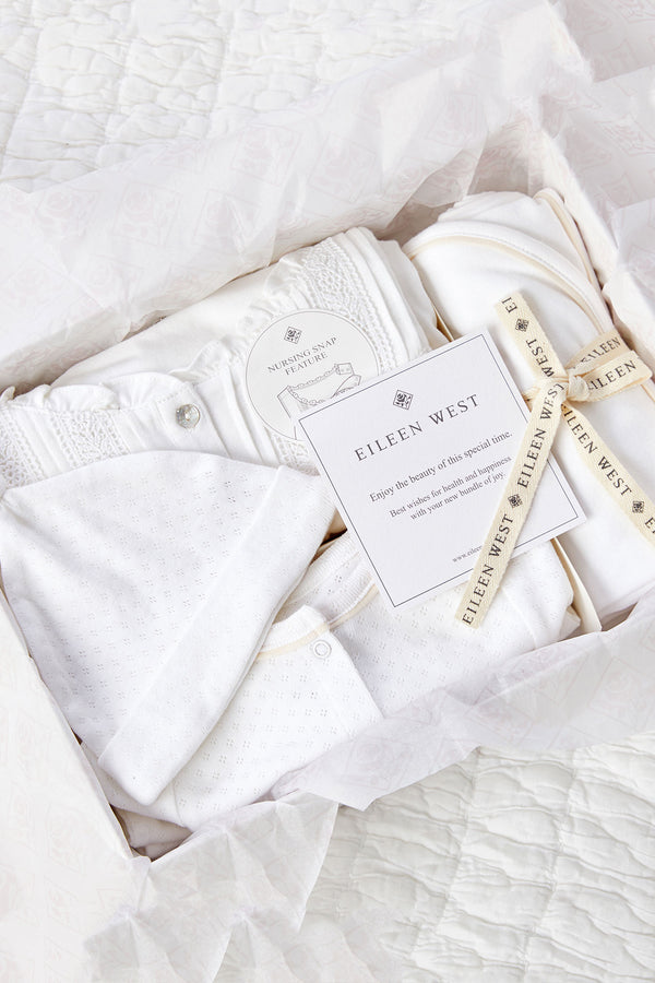 Organic Cotton Mom & Baby Gift Set