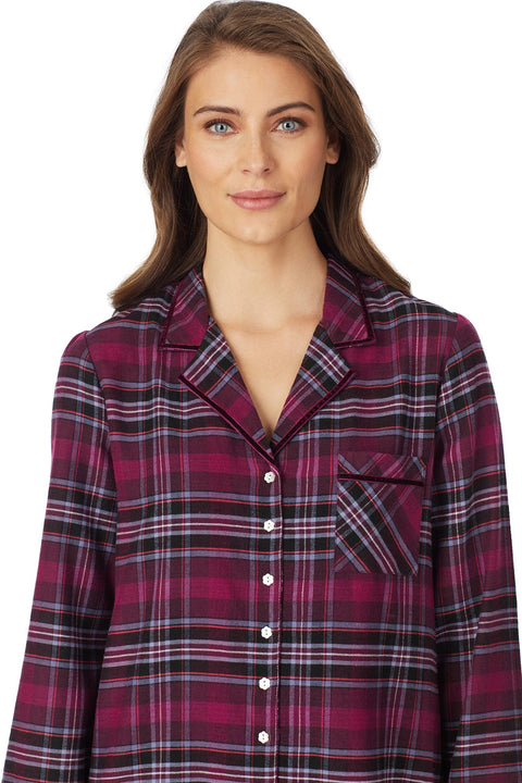 Holiday Plaid Flannel Pajama