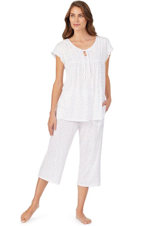 Sweetheart Smocking Pajama