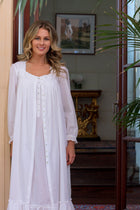 Vista Button-Front Robe