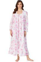 Aquarelle Rose Button Front Robe
