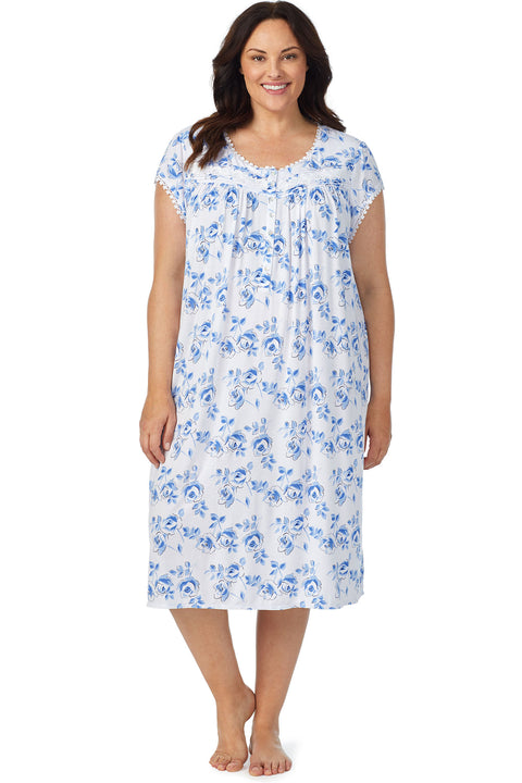 Painter's Rose Gown, Plus Size
