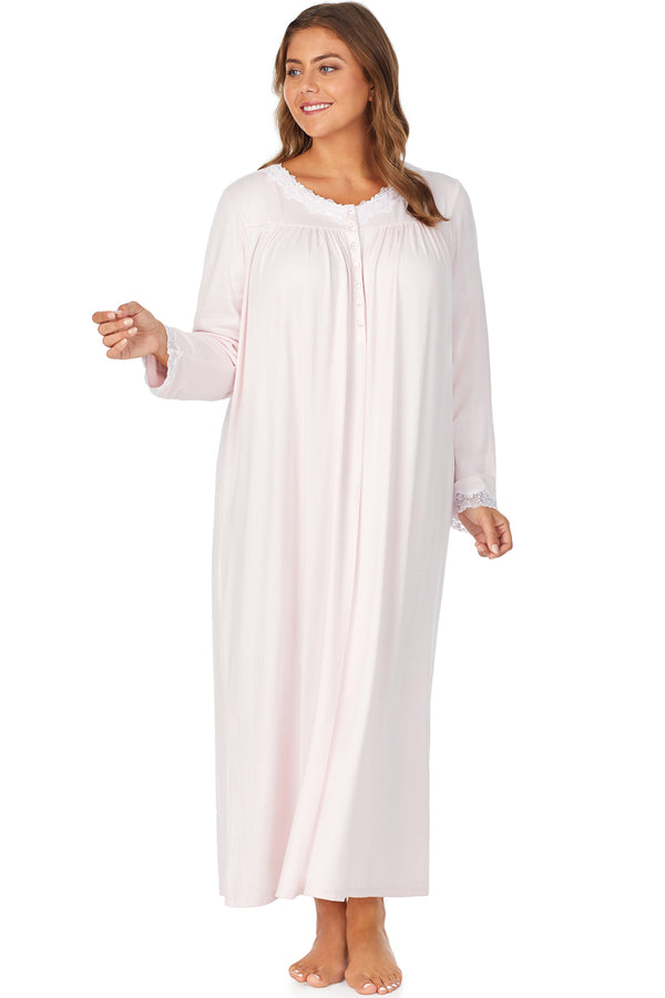 Carmel Sweater Knit Ballet Gown, Plus Size