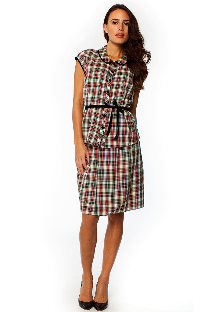 Go-To Plaid Set