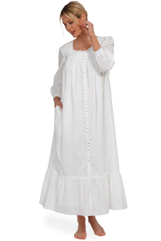 Spring Day Ballet Button Front Robe