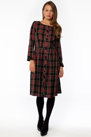 Mad About Plaid Dress