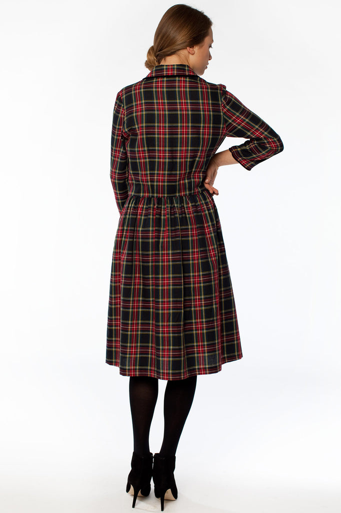 Piccadilly Plaid Dress
