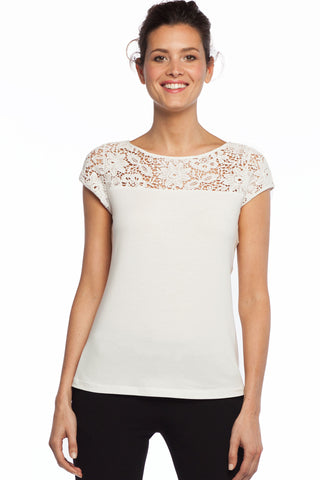 Belvedere Lace Top