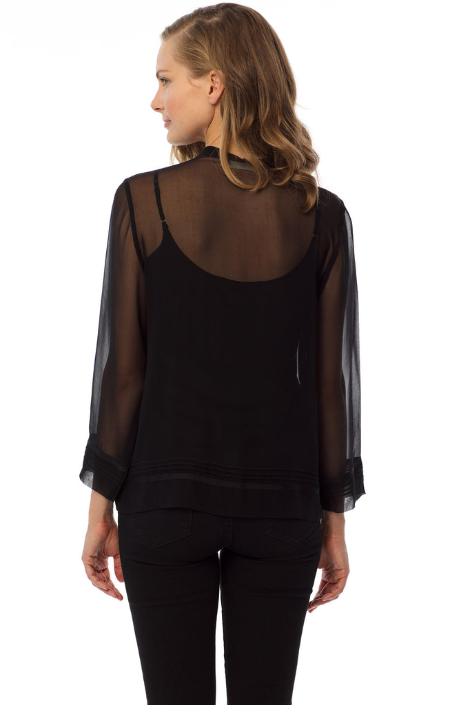 Brighton Blouse, Black