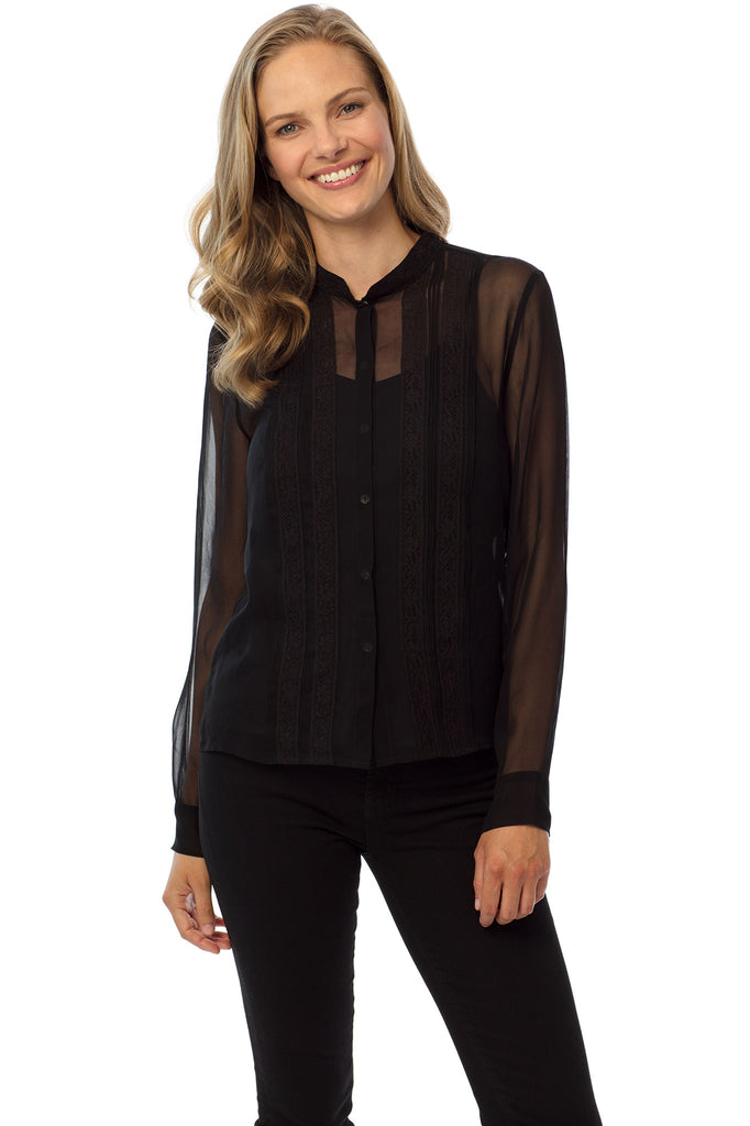 Kensington Blouse, Black
