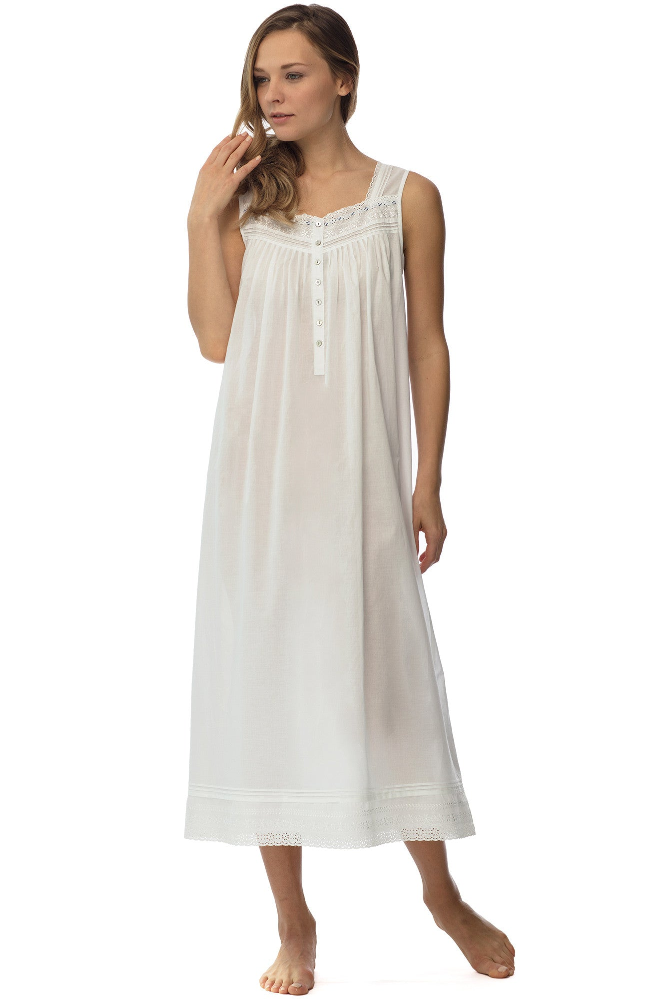 Pacific Shores Gown, White