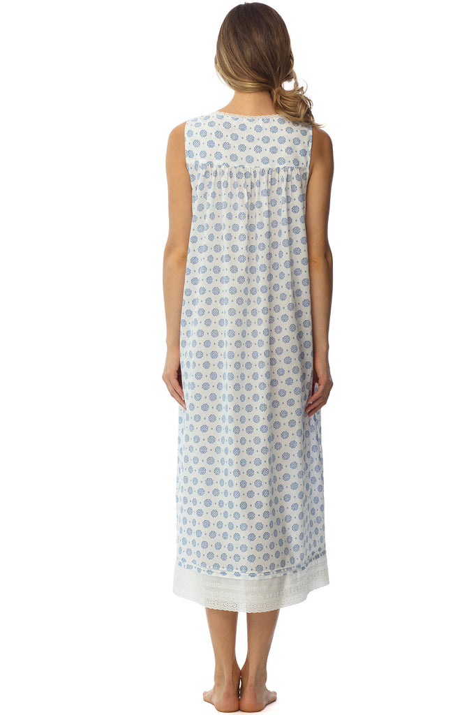 Pacific Shores Gown, Print