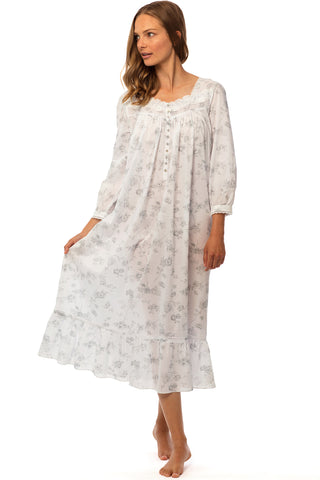 English Garden Long Sleeve Gown