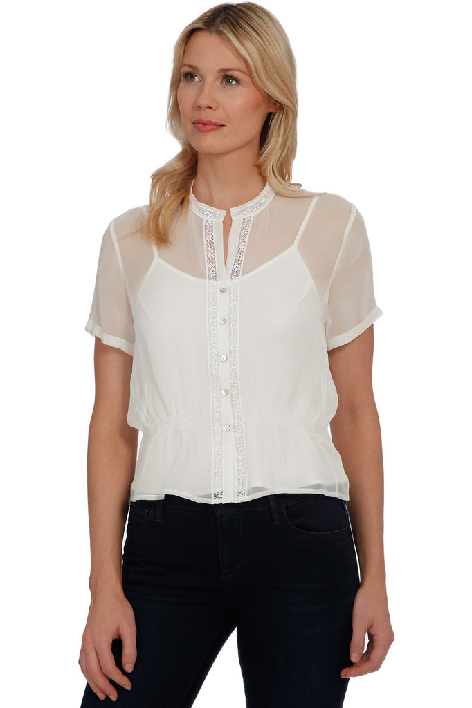 Victoria Blouse, Winter White
