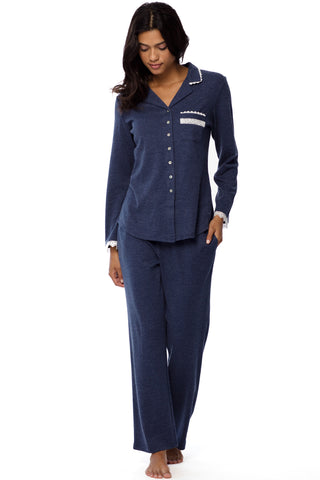 Heather Blue Pajama