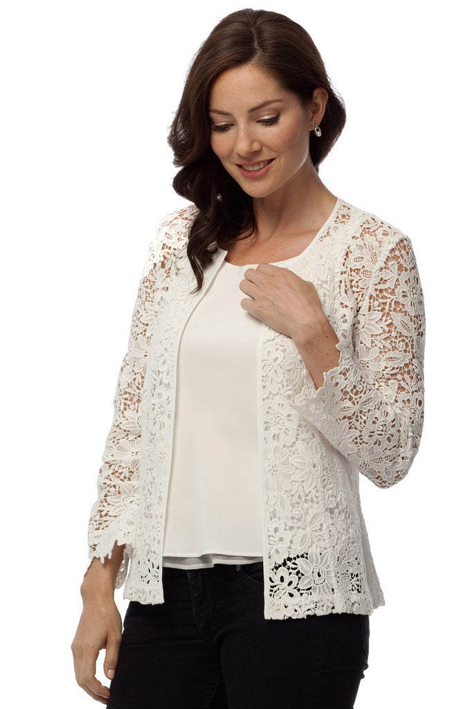 Belvedere Lace Jacket