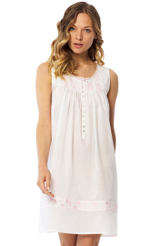 Angelic Embroidered Chemise