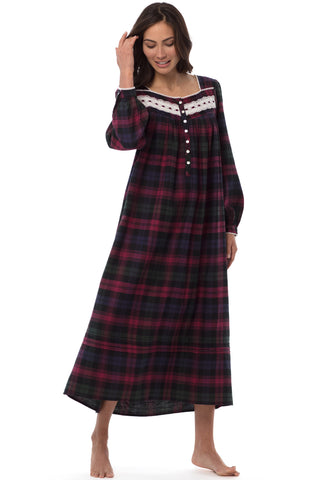 Treasured Flannel Gown