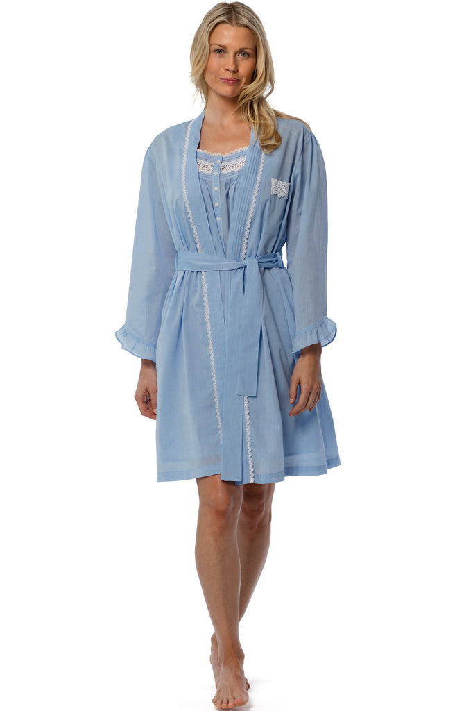 Ocean Dreams Wrap Robe