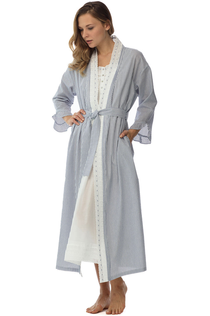 Pacific Shores Seersucker Robe
