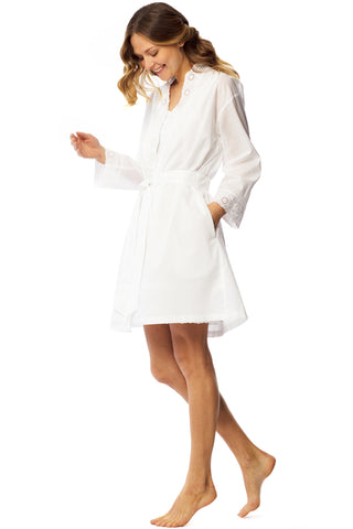 Eyelet Dream Wrap Robe