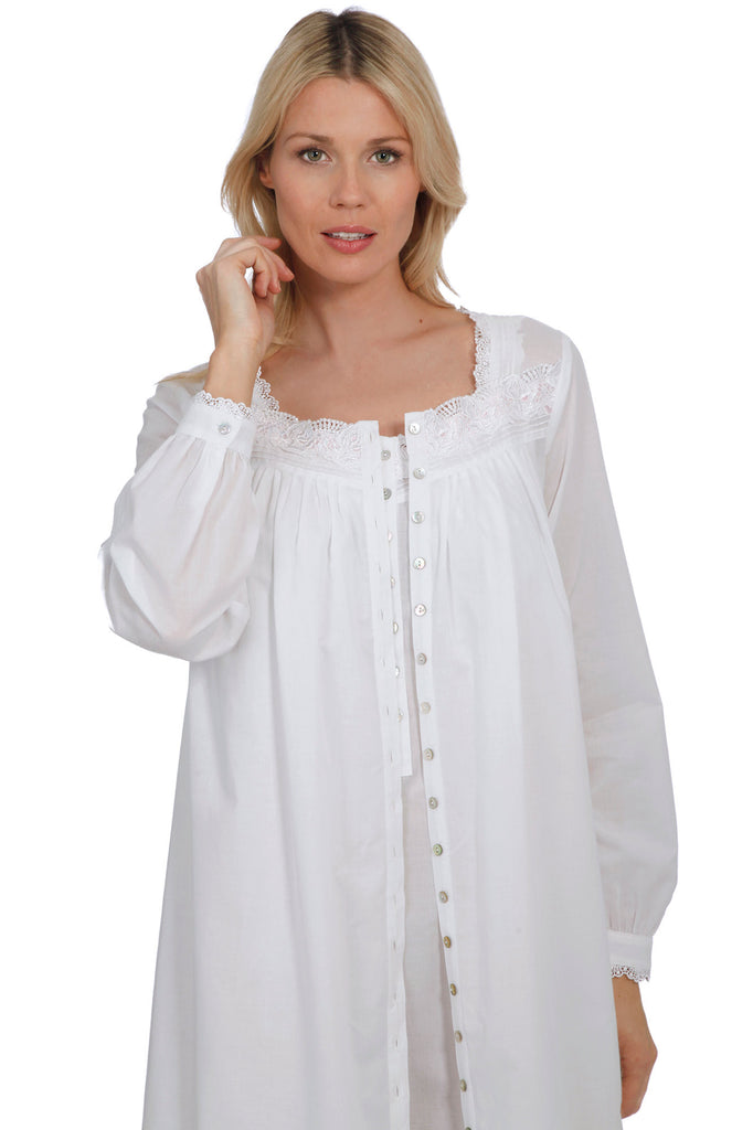 Capri Button-Front Robe