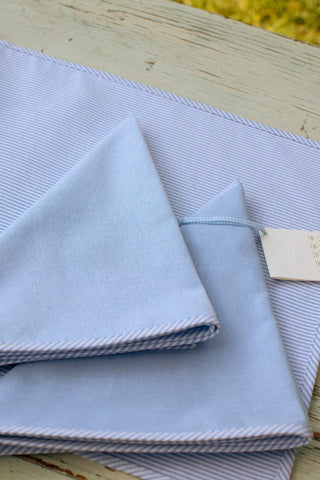 Oxford Cloth Napkin Set of Four
