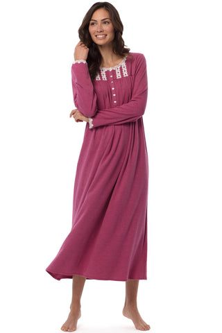 Ruby Heather Gown