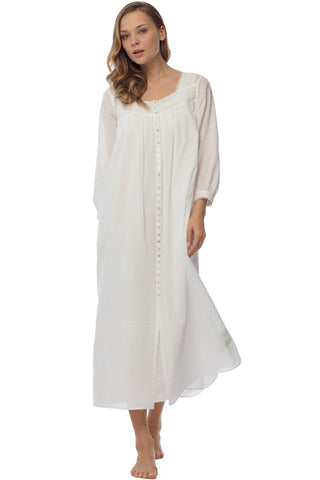 Delicate Swiss Dot Robe