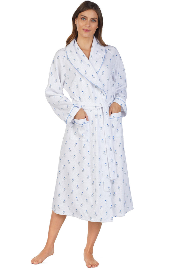 Rosebud Wrap Robe