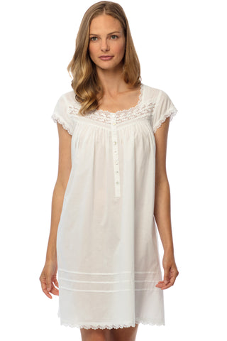 Romantic Weekend Cap Sleeve Chemise