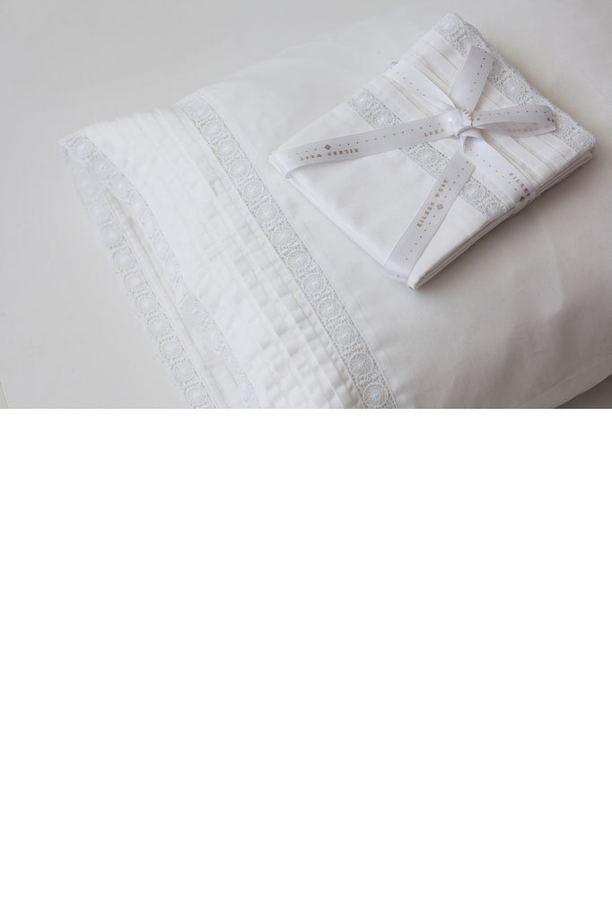 Queen Anne's Heirloom Lace Pillowcase Set