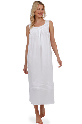 Shoreline Gem Gown, White
