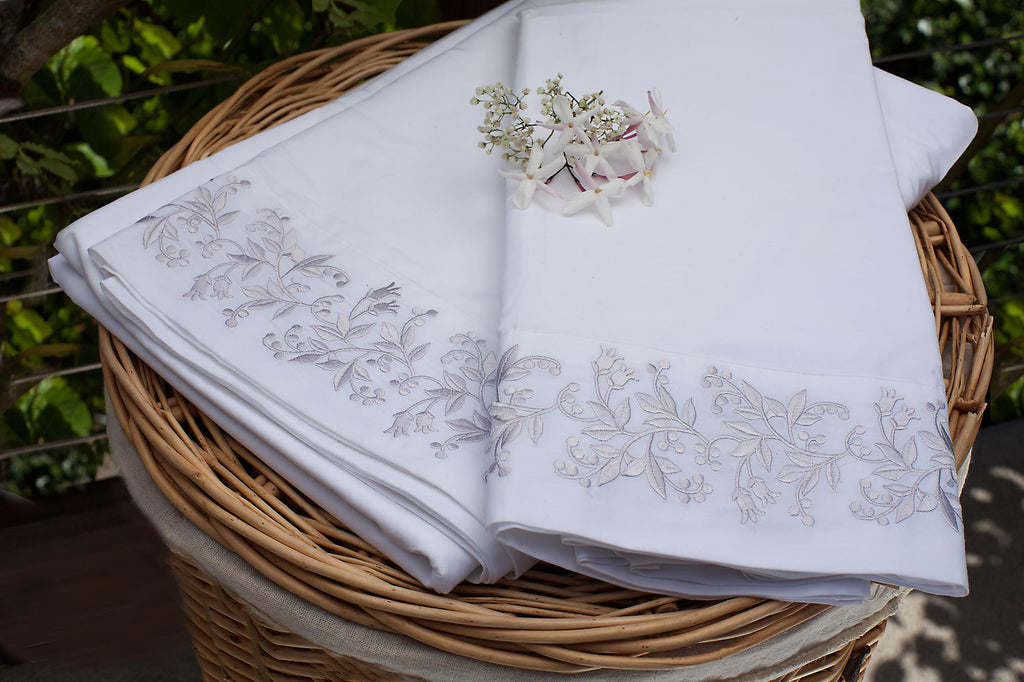 Eileen West Lily Of The Valley Pillowcase Set