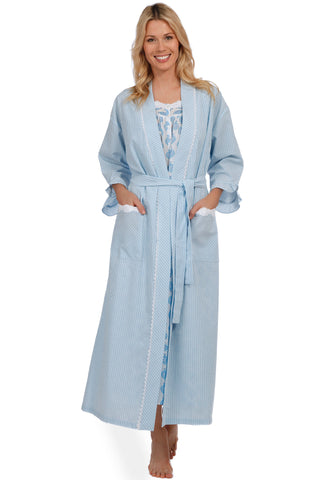Shoreline Gem Wrap Robe