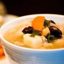 Open image in slideshow, 3 Bean + Roasted Chicken Soup - Real Meals