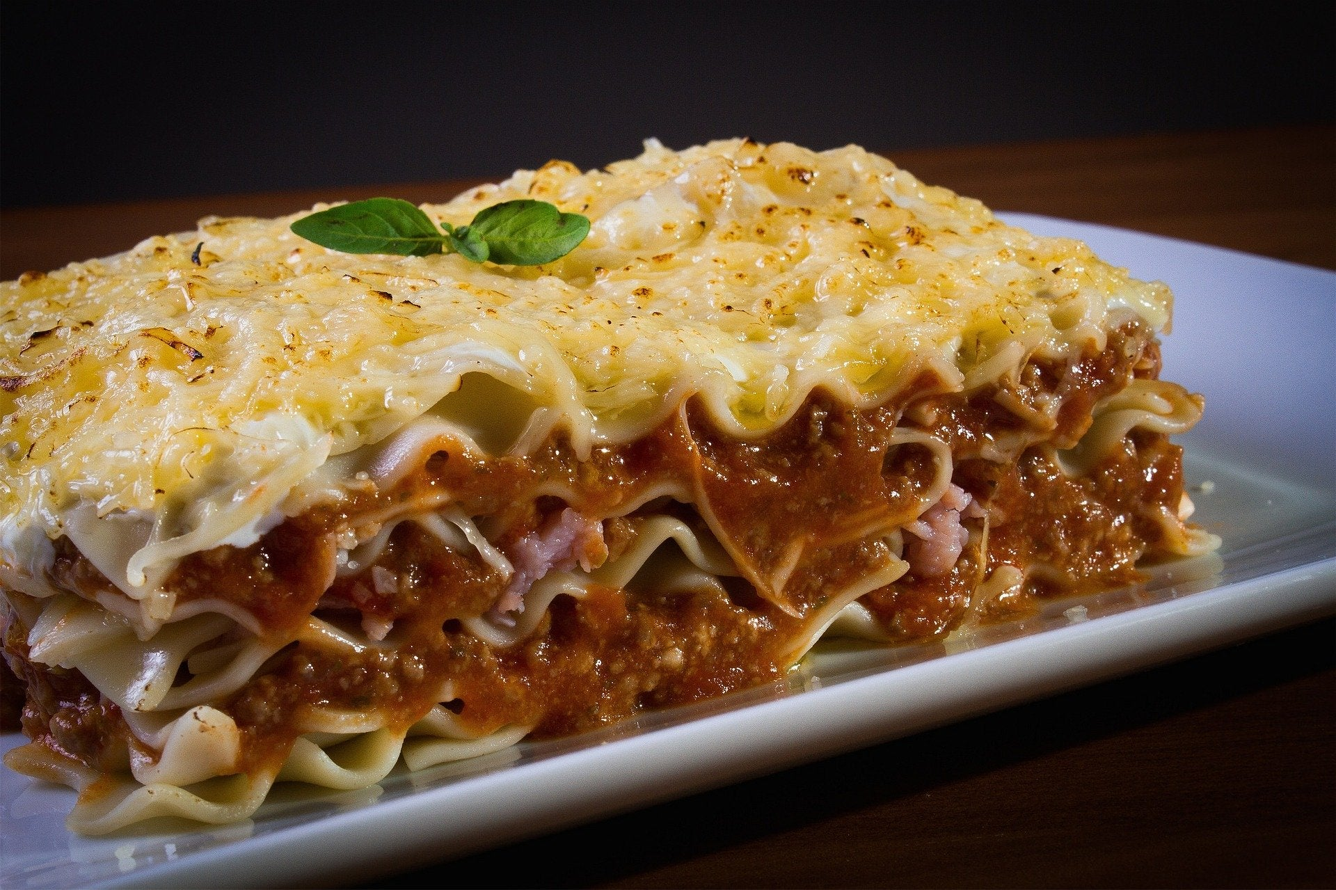 Gluten Friendly Beefy Lasagna - Real Meals